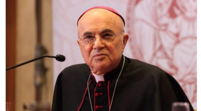 Archbishop Viganò: COVID agenda aims to destroy national sovereignties and the divine mission of the Church