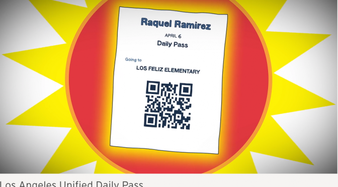 Microsoft and LA Unified to Track Students and Teachers with QR Codes