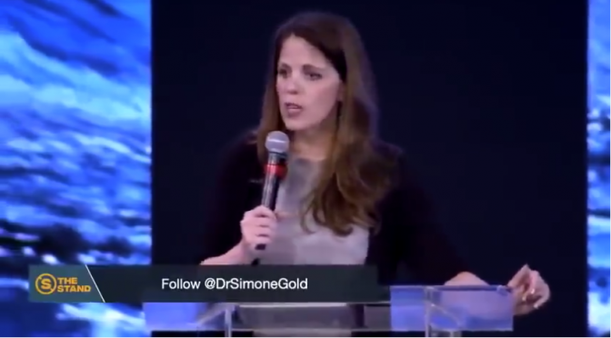 "Dr. Simone Gold: ""Stop the Lies"" (Video)"