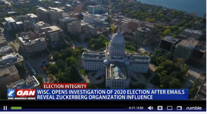 Wis. opens investigation of 2020 election after emails reveal Zuckerberg organization influence