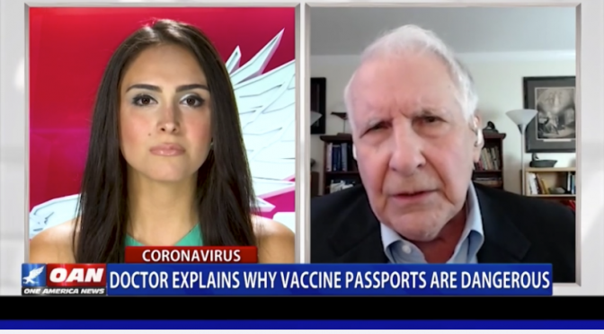 Dr Peter Breggin on the Dangers of 'Vaccine Passports'