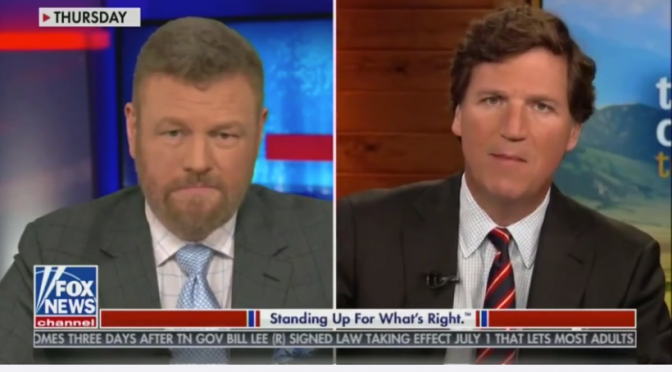 Tucker Carlson BLASTS Cancel Culture Left For Trying To Get Him Pulled Off Air