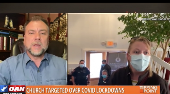 Pastor Discusses COVID Lockdown and Police Harassment of His Church