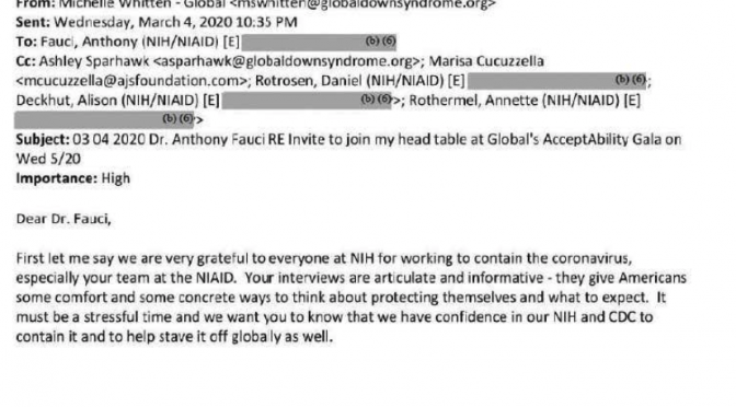 Fauci EMAILS EXPOSED, Here they are!