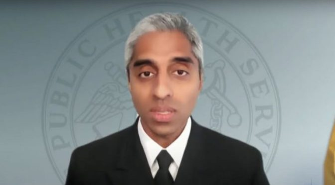 """Surgeon General says """"equity"""" is the reason COVID """"misinformation"""" needs to be censored online"""